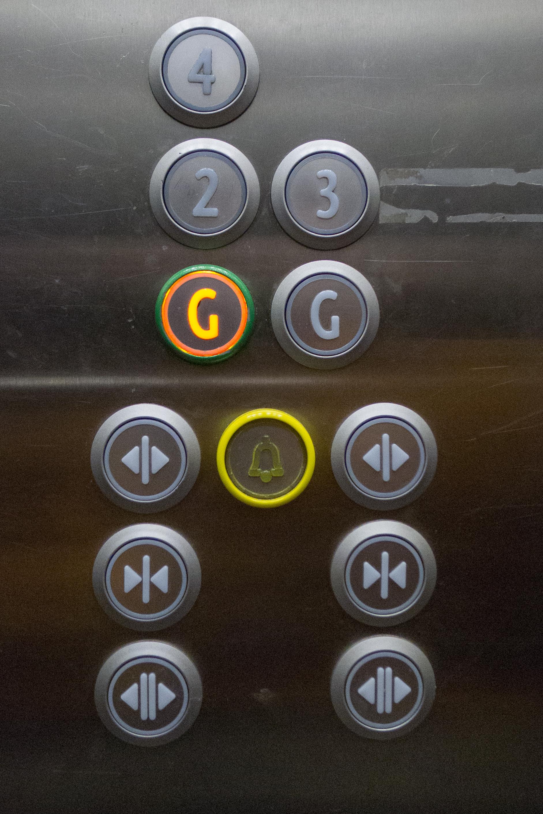 Piętra w windzie